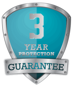 3 Year Protection Guarantee