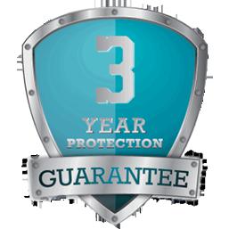 3 Year Protection Guarantee